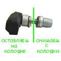 Тормозная колодка V-brake
