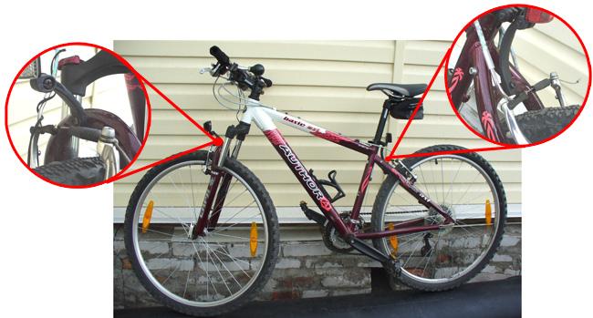 Как сделать крылья для велосипеда своими руками 12