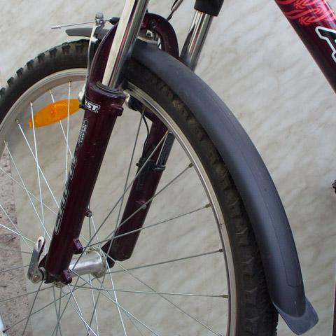 Как сделать крепление для крыла на велосипед
