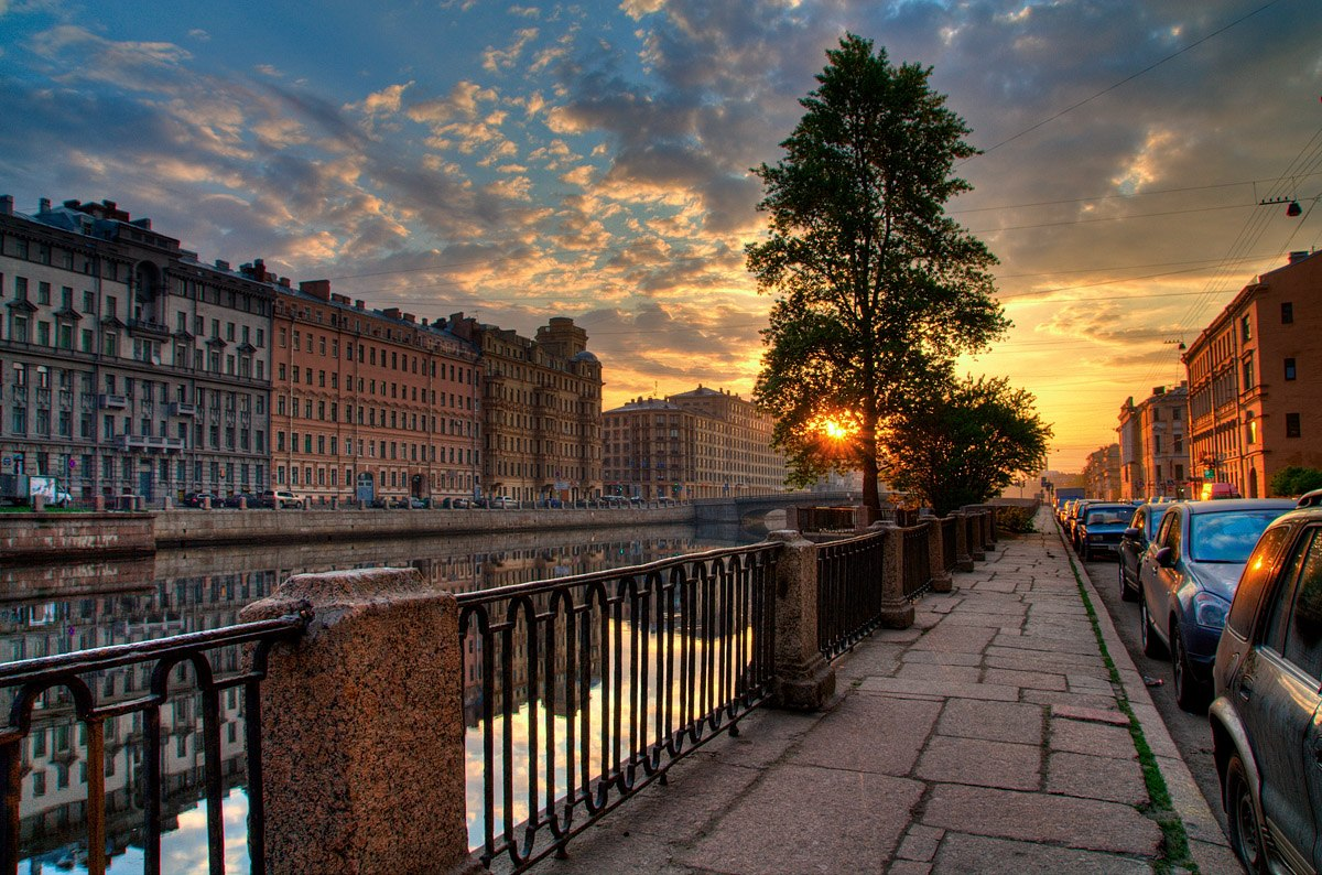 Channel in St. Petersburg
