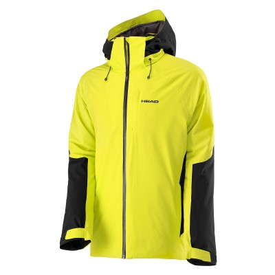 Head 2L Eclipse Jacket Men Yellow Race/Black (2018)